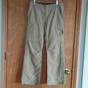 REI Girls Quick Dry Zip Off Pants Size 14-16